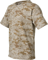 Code V Youth Camouflage Cotton T-Shirt