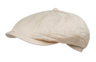 Lightweight Linen Cotton Blend Khaki Ivy Golf Cap