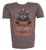 """Smokey the Bear """"Very High"""" T-Shirt"""