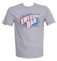 Awesome Dad Humour Short Sleeve Shirt (Comes in different colors and sizes)