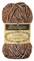 Scheepjes Stone Washed XL-Brown Agate 862