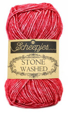 Scheepjes Stone Washed-Red Jasper 807
