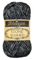 Scheepjes Stone Washed-Black Onyx 803
