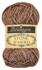 Scheepjes Stone Washed-Brown Agate 822
