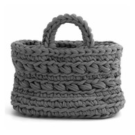 Zpagetti Basket Revisto- Dark Grey