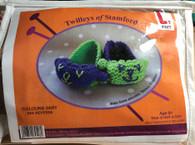 Learn To Knit-Sleepy Slippers