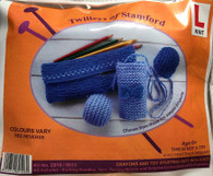 Learn To Knit-Pencil Case & Other Projects
