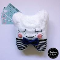 The Little Gentleman Tooth Fairy Pillow Kit