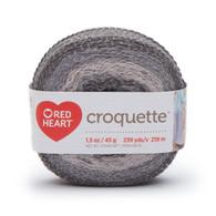 Redheart Croquette- Titanium - 9439