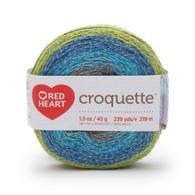 Redheart Croquette- River Rocks - 9673