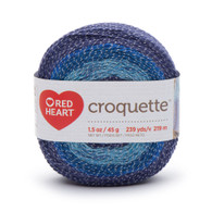 Redheart Croquette- Tidepool - 9869