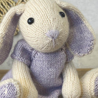 Knitting Amigurumi Kit Chloe Hare