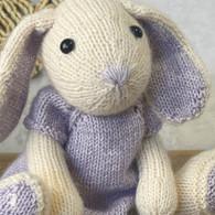 Knitting Amigurumi Kit Chloe Hare