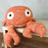 Knitting Amigurumi Kit Crab Karel