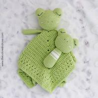 Sleepy Baby Frog Comforter & Buddy