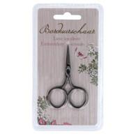 Embroidery Scissors Fine Point 6.5 Black Nickel