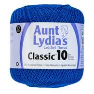 Aunt Lydia Crochet Cotton Size 10-Dark Royal