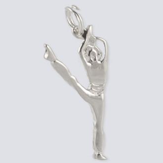 Arabian Prince Charm - Nutcracker Dance Jewelry Silver