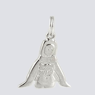 Bird Charm - Nutcracker Dance Jewelry Silver