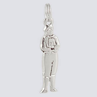 Boy Charm - Nutcracker Dance Jewelry Silver