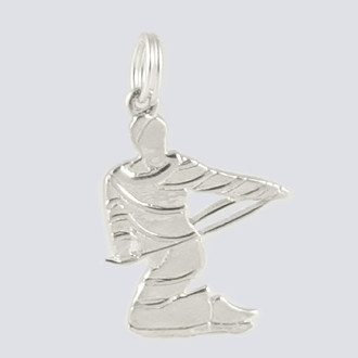 Candy Cane Charm - Nutcracker Dance Jewelry Silver