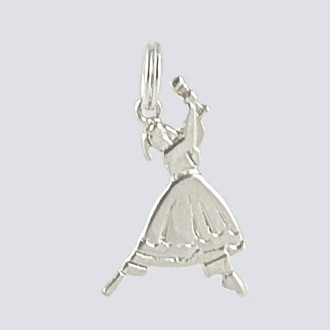 Clara Charm - Nutcracker Dance Jewelry Silver