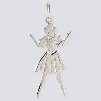 Doll Charm - Nutcracker Dance Jewelry Silver