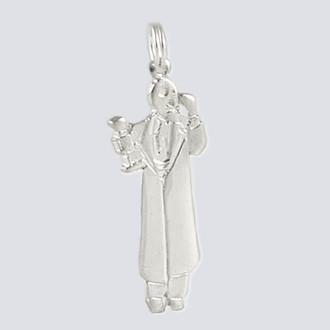 Drosselmeier Charm - Nutcracker Dance Jewelry Silver