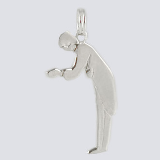 Father Charm - Nutcracker Dance Jewelry Silver