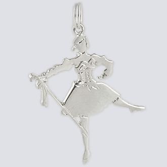 Mirliton Charm - Nutcracker Dance Jewelry Silver