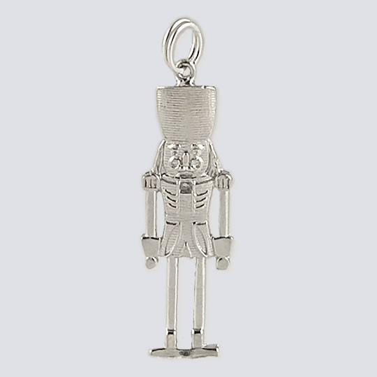 227161339 Nutcracker Charm - Nutcracker Dance Jewelry Silver Collection