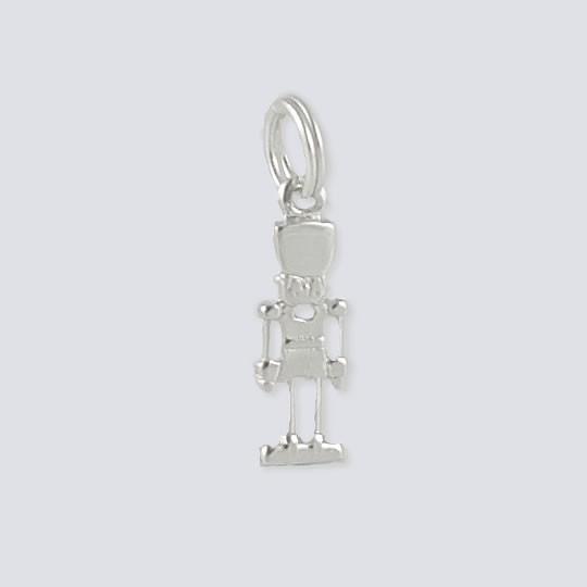 01b4e4444 Petit Nutcracker Charm - Nutcracker Dance Jewelry Silver Collection