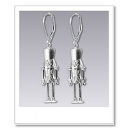 Nutcracker Earrings - Silver
