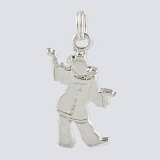 Polinchinelle Charm - Nutcracker Dance Jewelry Silver