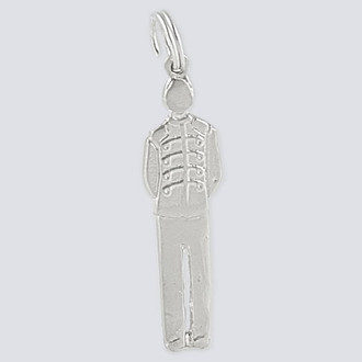 Prince Charm - Nutcracker Dance Jewelry Silver