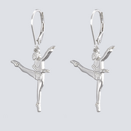Contemporary Dance Earrings - Dance Jewelry Collection