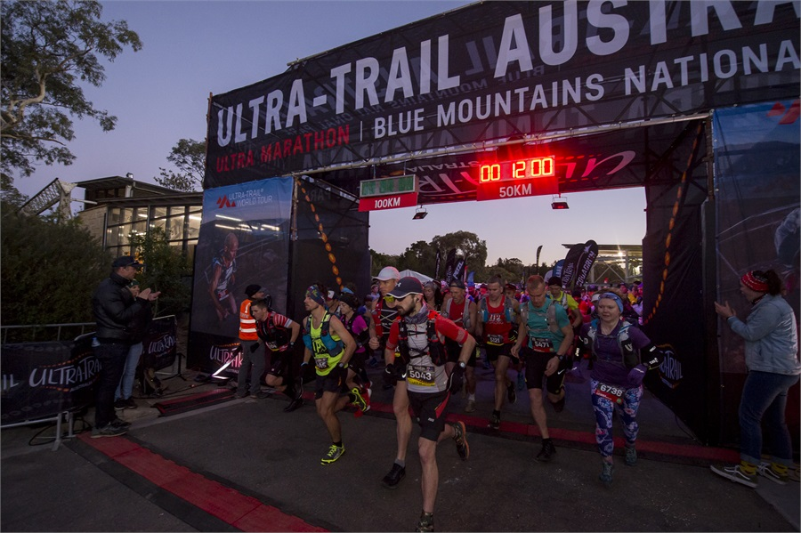 Ultra-Trail Australia start