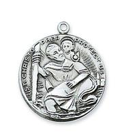 (D356) PEWTER ST CHRISTOPHER MEDAL