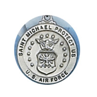 (D650AF) PEWTER AIR FORCE MEDAL
