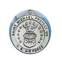 (D650AF) PEWTER AIR FORCE MEDAL