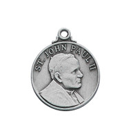 (D697) PEWTER ST. JOHN PAUL MEDAL
