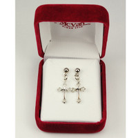 (ERC8003) RF CROSS EARRINGS T BOX