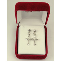 (ERC8017) RF CRUCIFIX EARRINGS T BOX