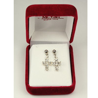 (ERP70) RHINESTONE EARRINGS T BOX