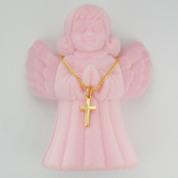 "(H6099AB) GP CROSS, 13"" CH, ANGEL BOX"