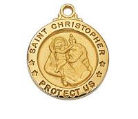 "(J700CH) G/SS ST.CHRISTOPH 18"" CH&BX"
