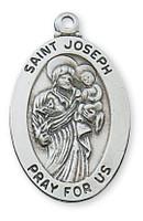 """(L461JS) SS ST JOSEPH 20 CH&BX"""""""