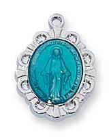 (L595BB) SS BLUE MIRAC 13 CH/W