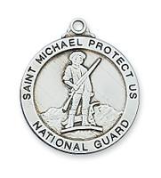 """(L650NG) SS NATIONAL GUARD MEDAL 24"""" CH"""