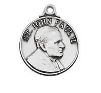 "(L697) SS ST. JOHN PAUL II 20"" CH&BX"